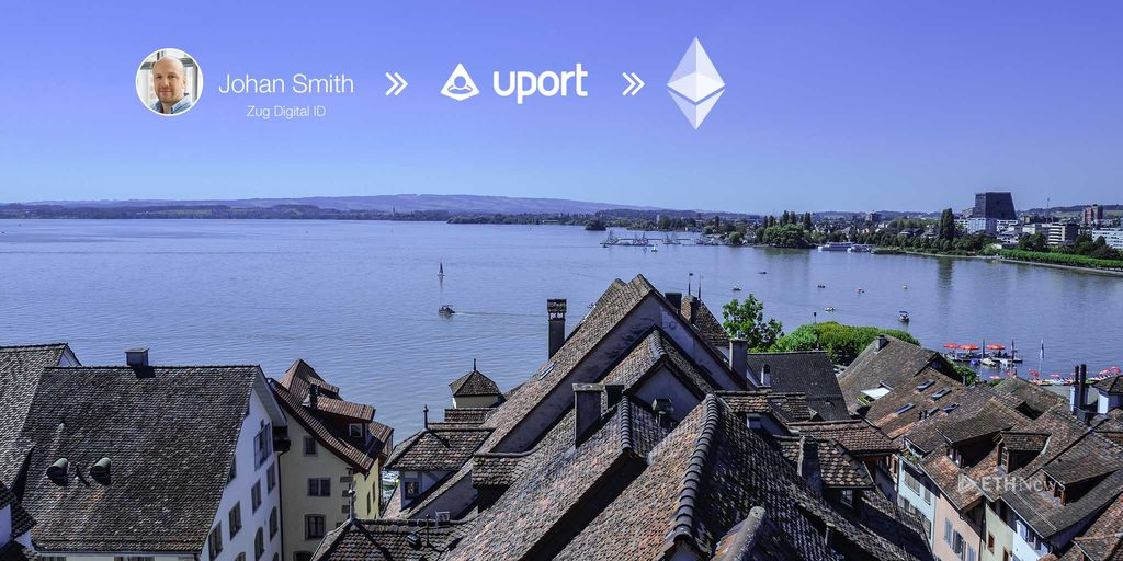 Zug And uPort See First Citizens' Identity Registered On The Ethereum Blockchain