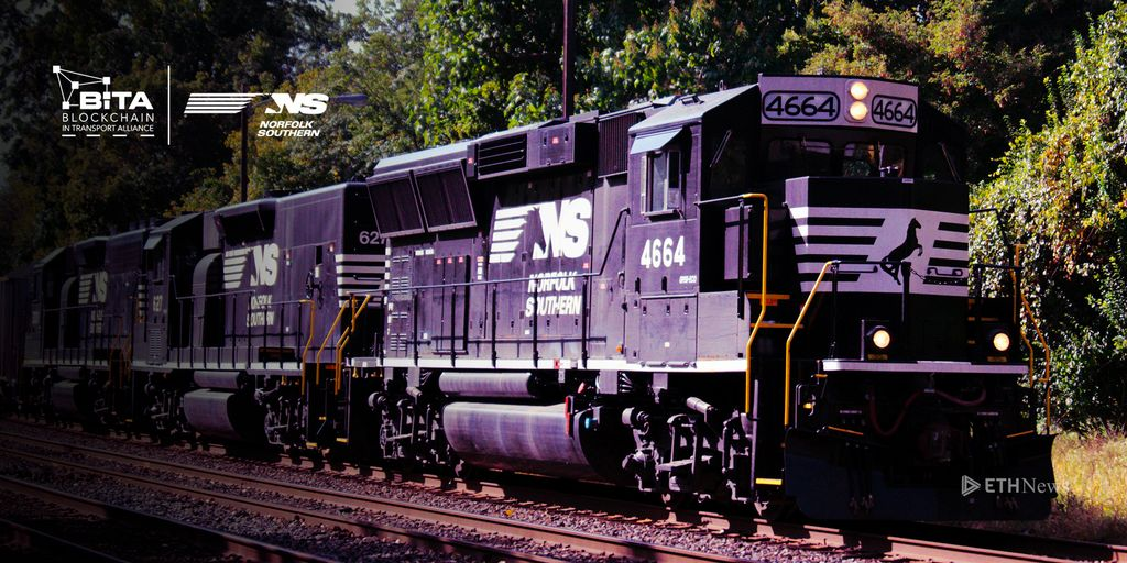 Norfolk Southern Gets On The Right Side Of The Blockchain Tracks