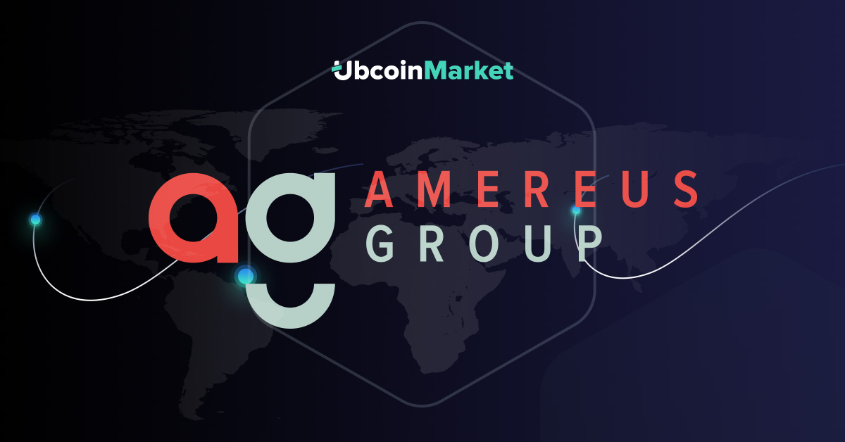 PR: Ubcoin Market Receives Investment from Singapore-Based Amereus Group for the Expansion into the Asian Market