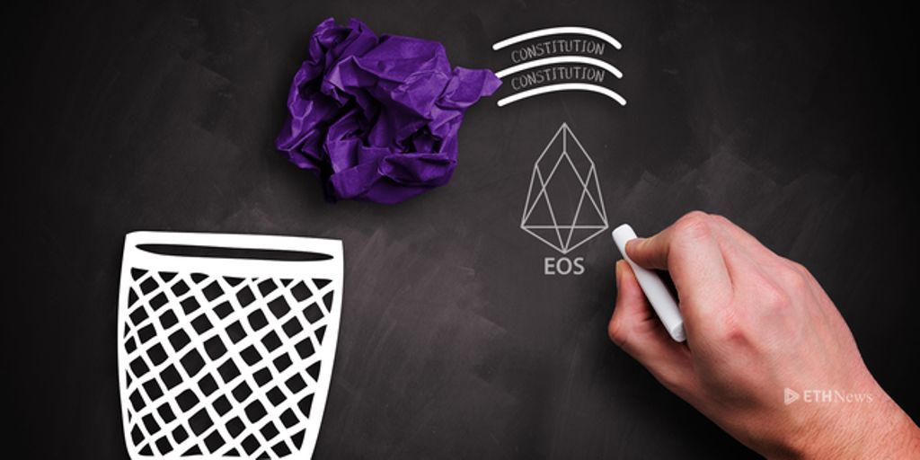 Dan Larimer Says EOS Constitution Should Be Thrown Out, Blames Humans