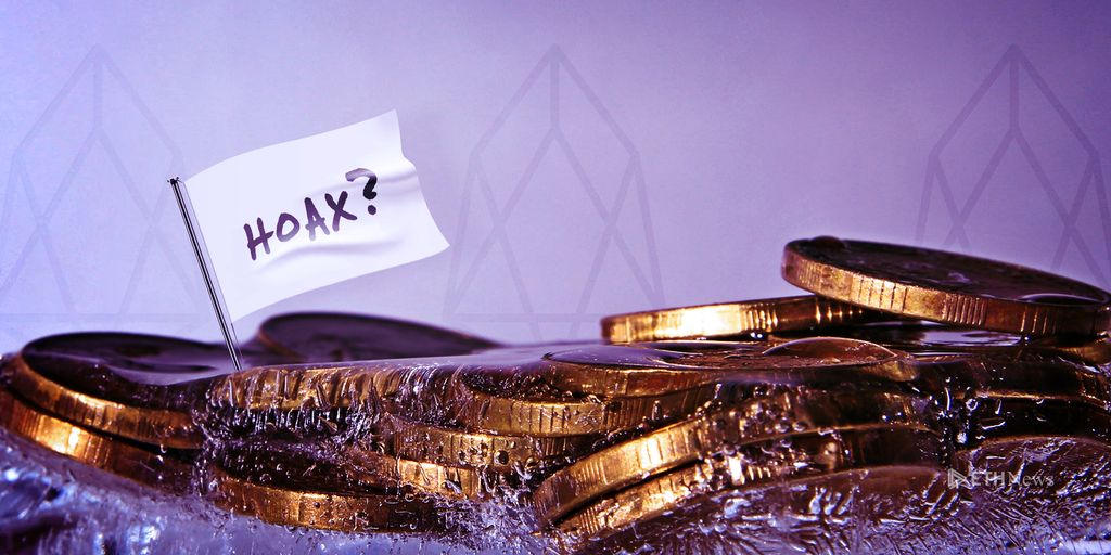 Arbitration Forum Orders More EOS Accounts Frozen, But Apparent Hoax Muddies Waters