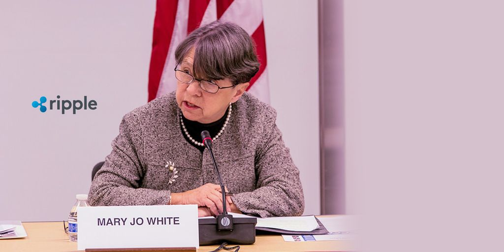 Ex-SEC Chair Mary Jo White To Represent Ripple In Lawsuit Alleging XRP Securities Classification