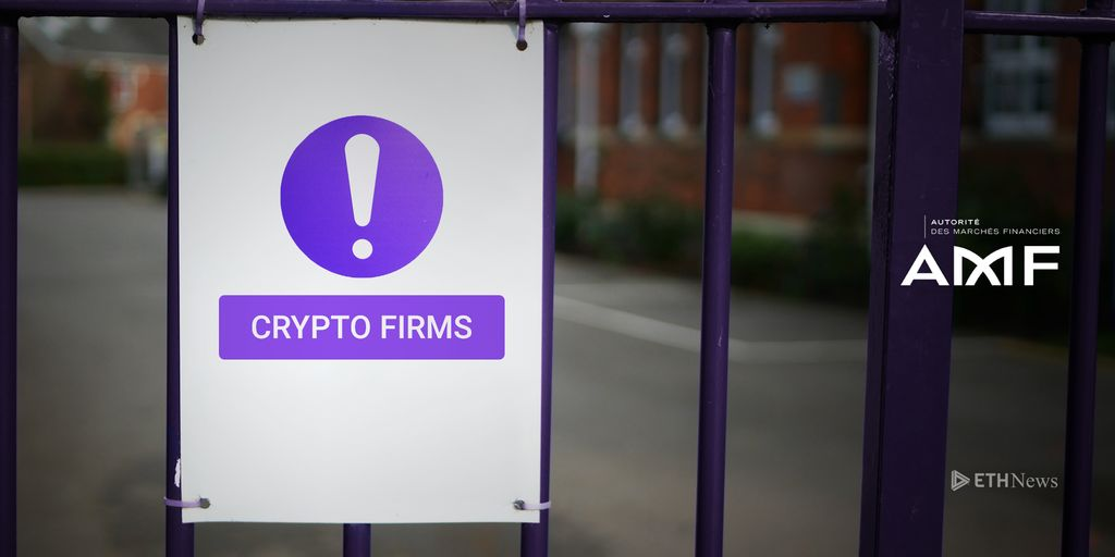 French Regulator AMF Warns Against Unauthorized Cryptocurrency Firms