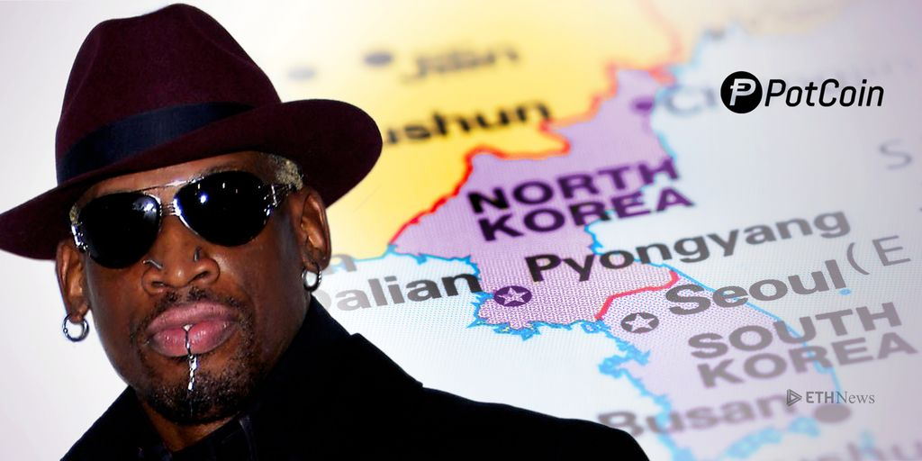 High Time For Diplomacy: PotCoin To Sponsor Rodman Trip During US-North Korea Meeting