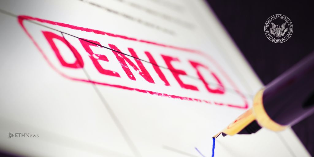 [UPDATED] SEC Rejects ETF Proposals From Three Companies