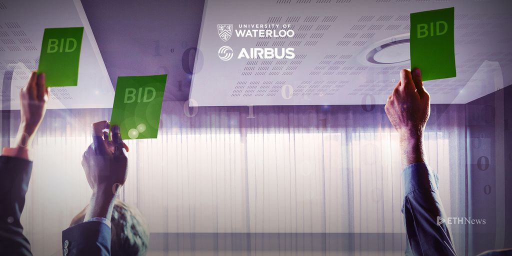 University Of Waterloo Professor And Airbus Have Developed A Blockchain Protocol For Auctions