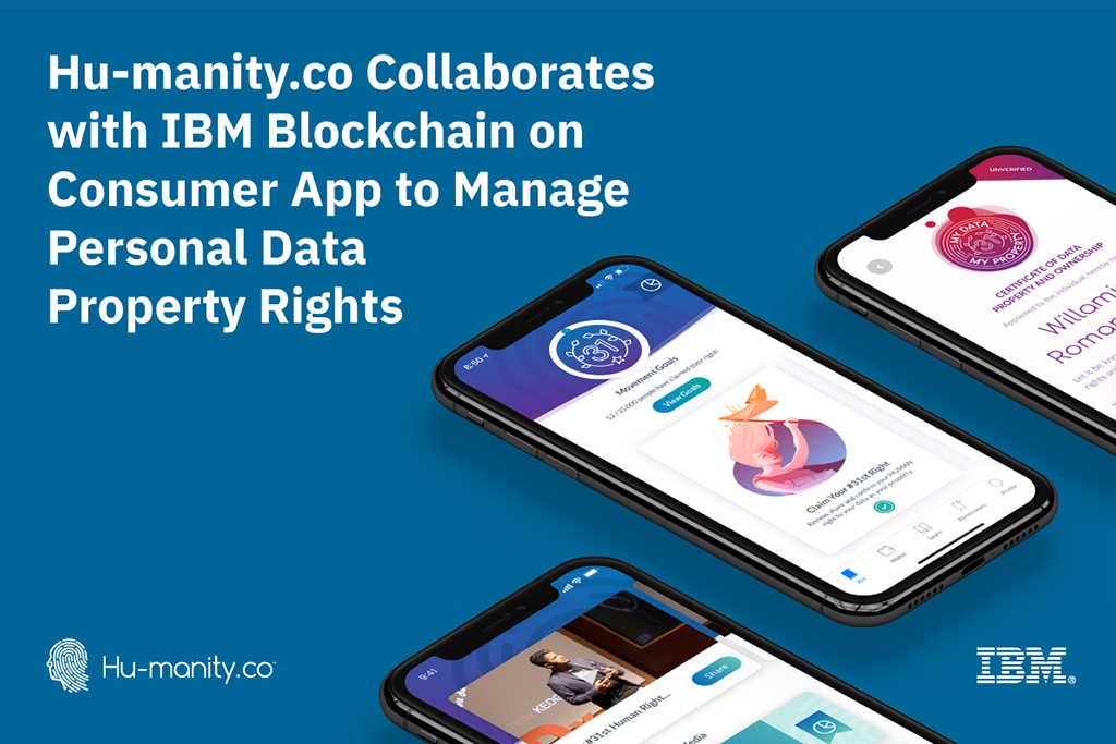 IBM and Hu-manity.co Join Hands to Manage Blockchain-based Property Rights for Personal Data