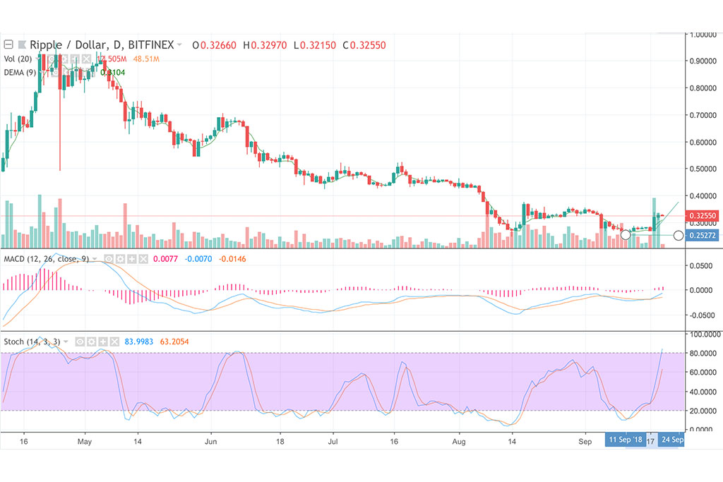 XRP Cash Price & Technical Analysis: XRP Ready to Continue Rising