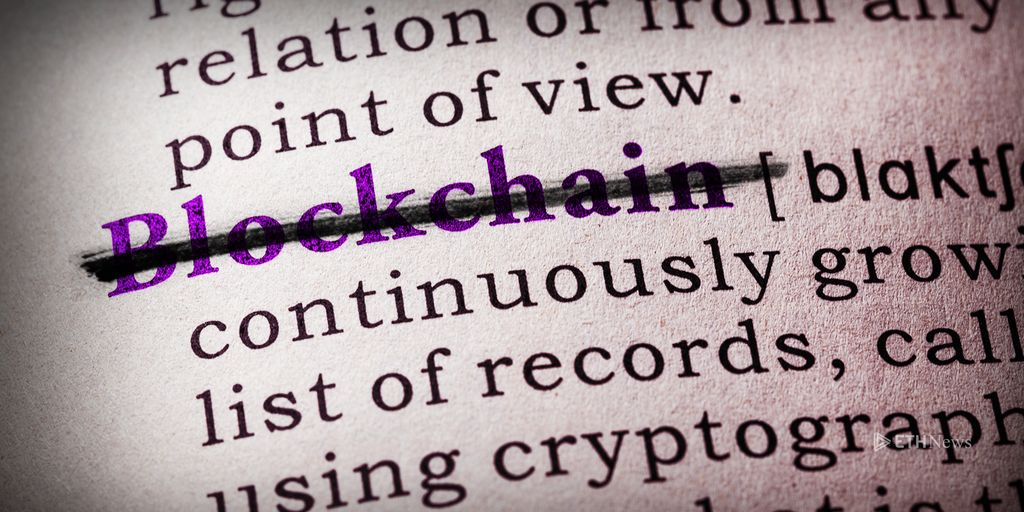 Why A Bill To Define Blockchain Could Be 'Dangerous'