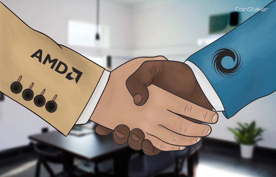Cloud Computing Infrastructure to be Developed by AMD and ConsenSys |