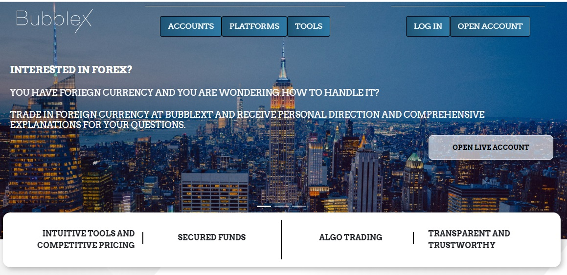 Bubblext Review – Start Your Trading Journey With Bubblext
