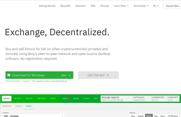 Bisq Review – A Top Class Trading Network
